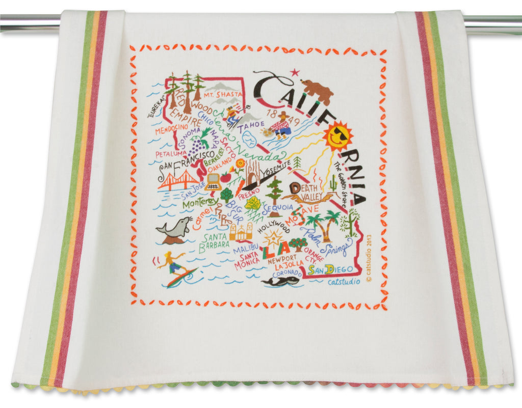 CALIFORNIA DISH TOWEL - CityBarnCountryPenthouse