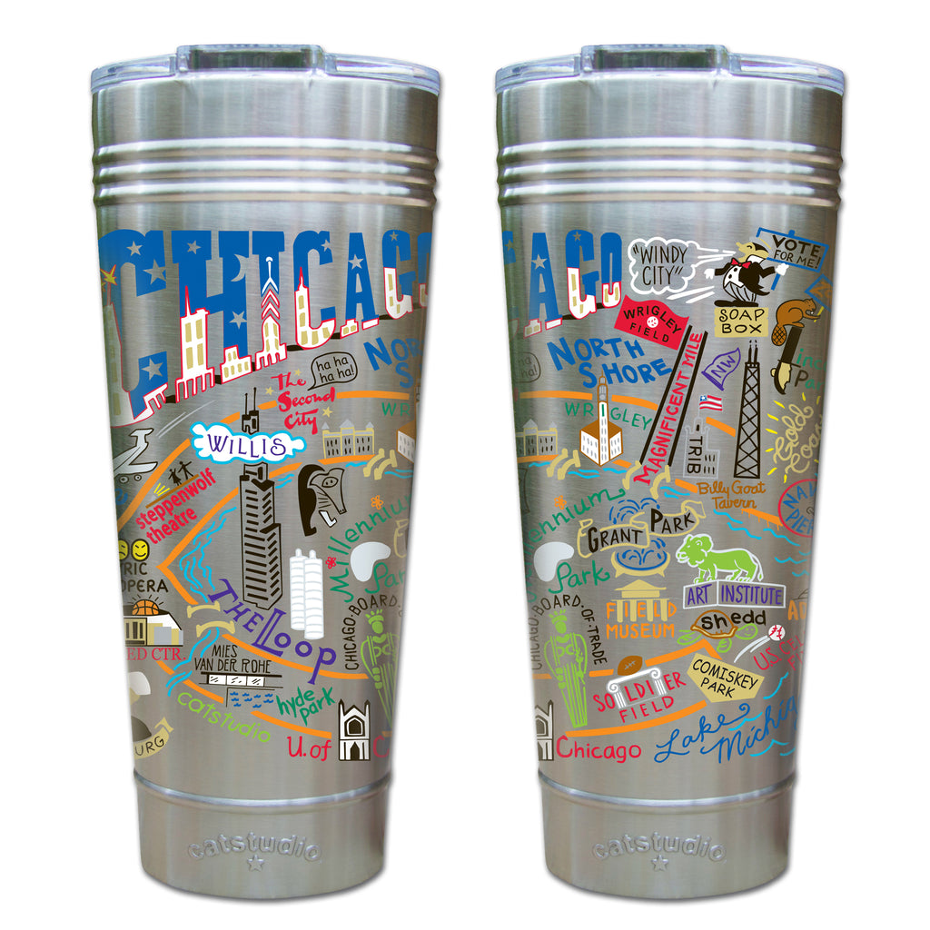 Chicago Thermal Tumbler - CityBarnCountryPenthouse