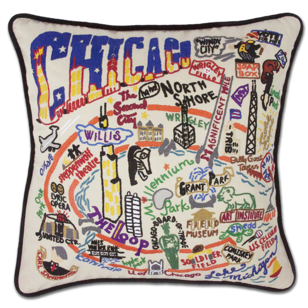CHICAGO PILLOW - CityBarnCountryPenthouse