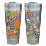 Clemson University Thermal Tumbler - CityBarnCountryPenthouse