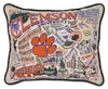 Clemson University Pillow - CityBarnCountryPenthouse