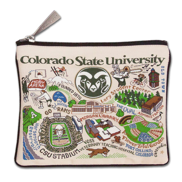 Colorado State University Pouch - CityBarnCountryPenthouse