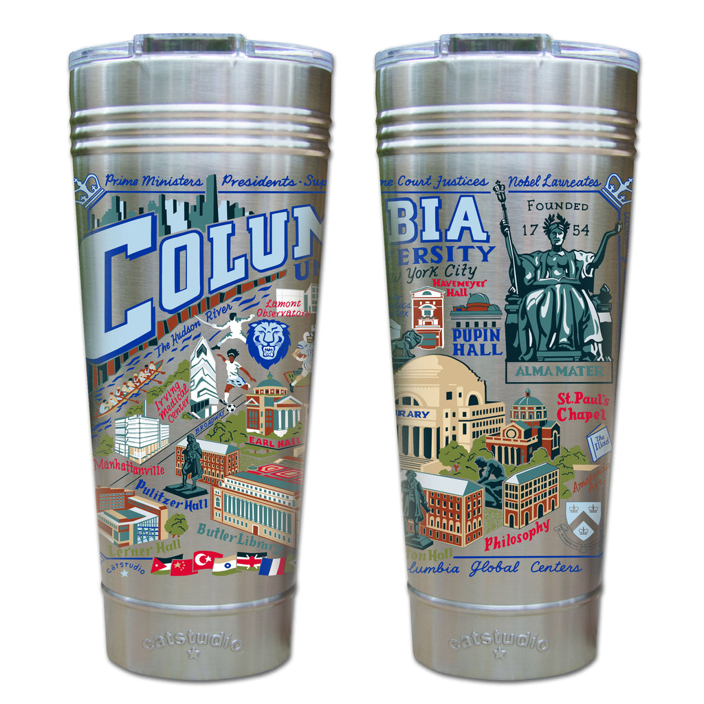 Columbia University Thermal Tumbler - CityBarnCountryPenthouse