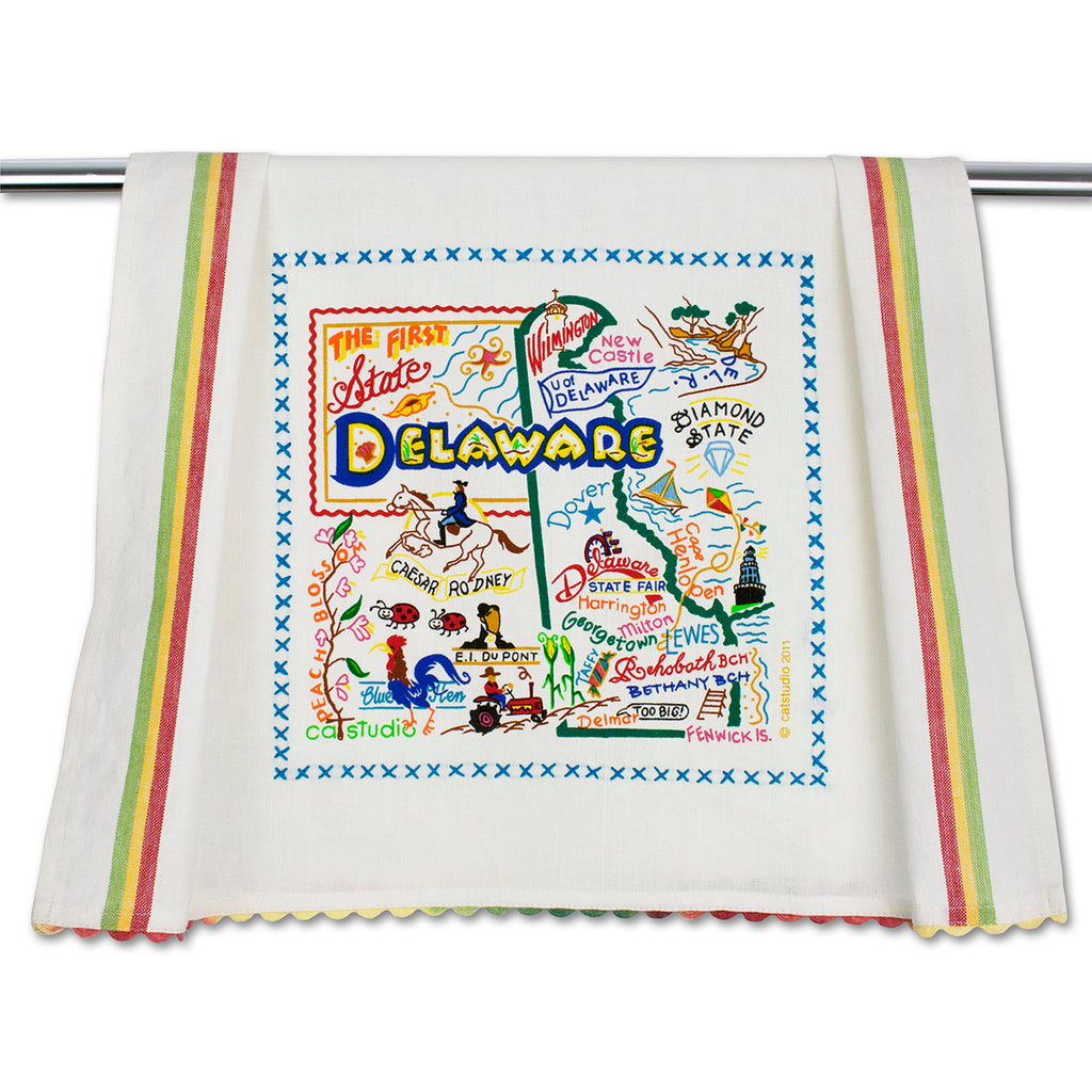 Delaware Dish Towel - CityBarnCountryPenthouse