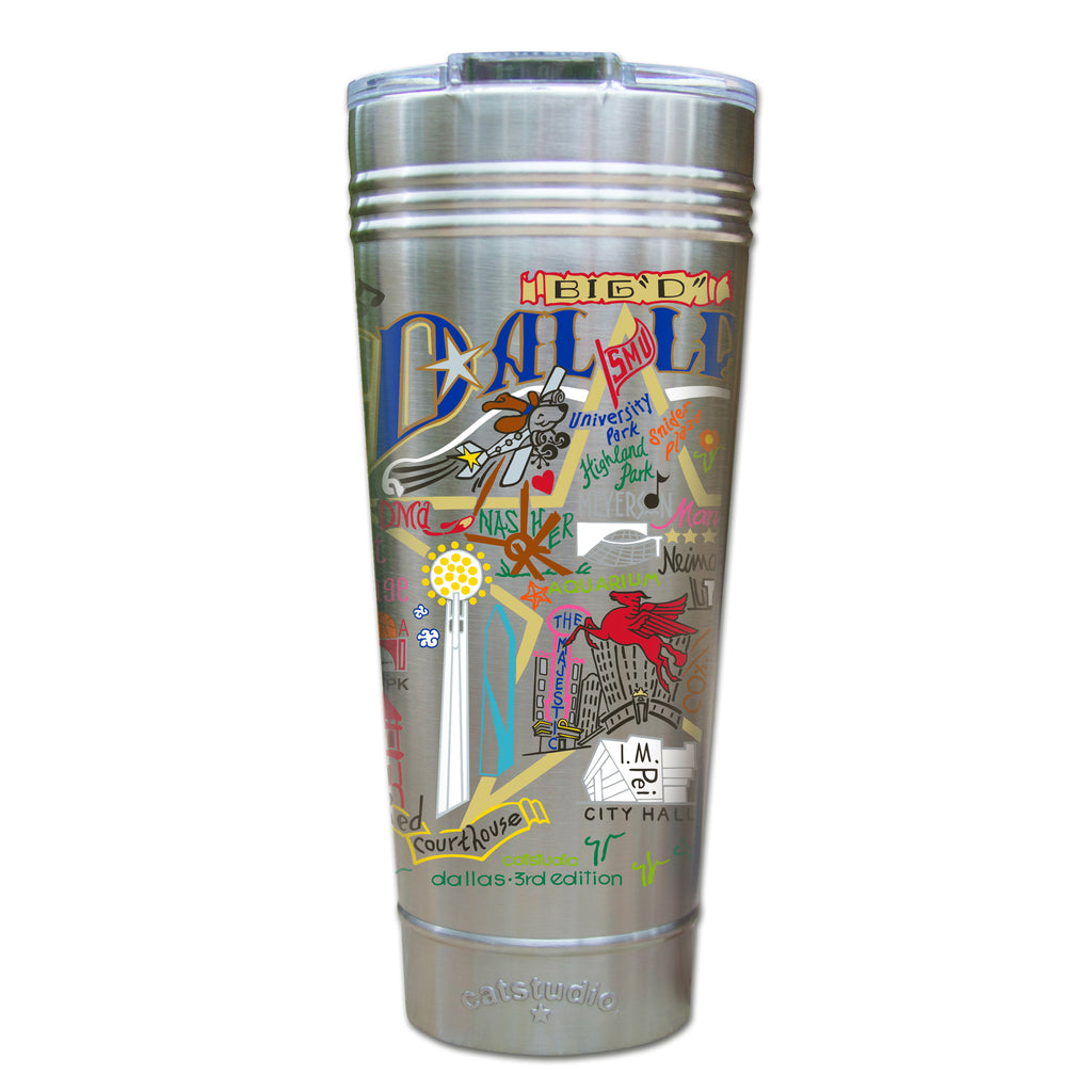 Dallas Thermal Tumbler - CityBarnCountryPenthouse