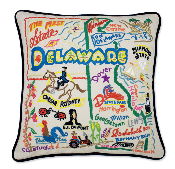 Delaware Pillow - CityBarnCountryPenthouse