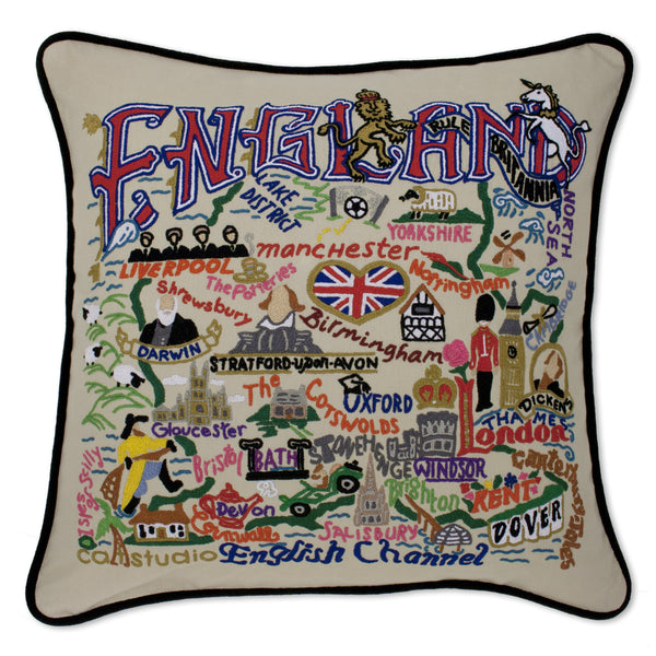 England Pillow - CityBarnCountryPenthouse