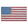 50 STARS RUSTIC FLAG - Medium