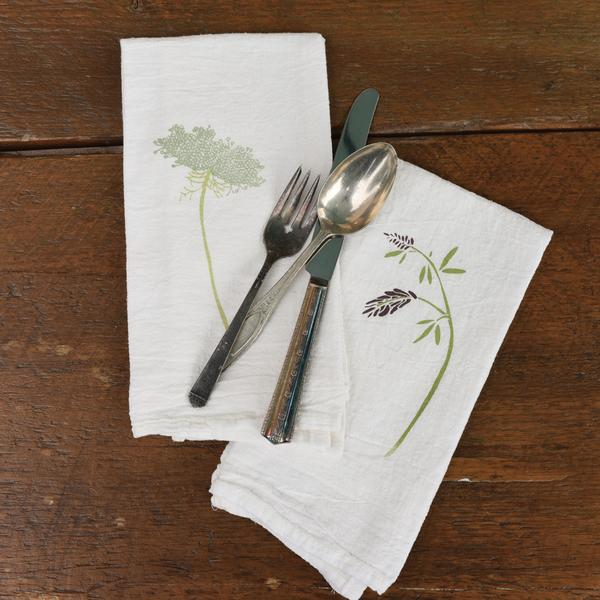 FIELD GREENS NAPKINS SET OF 4 - CityBarnCountryPenthouse