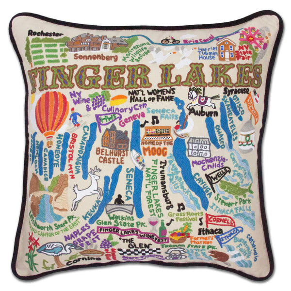 Finger Lakes Pillow - CityBarnCountryPenthouse