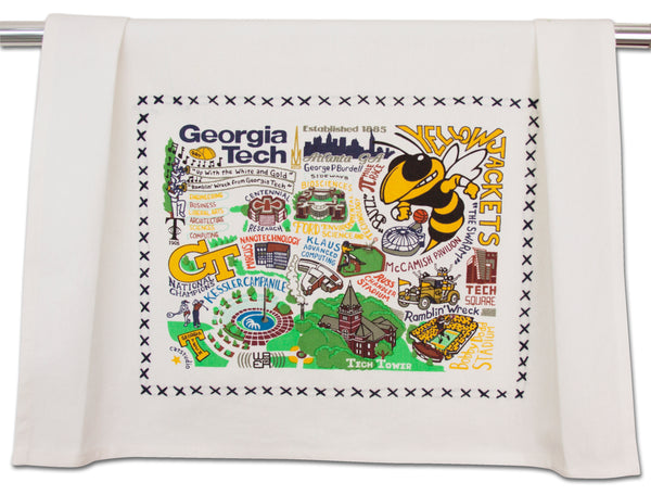 Georgia Tech Dish Towel - CityBarnCountryPenthouse