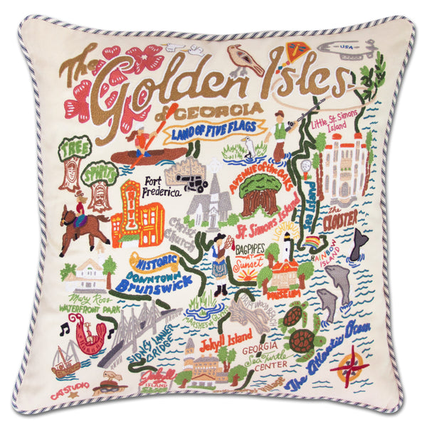 Golden Isles Pillow - CityBarnCountryPenthouse
