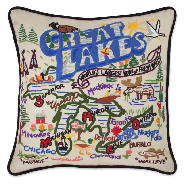 Great Lakes Pillow - CityBarnCountryPenthouse