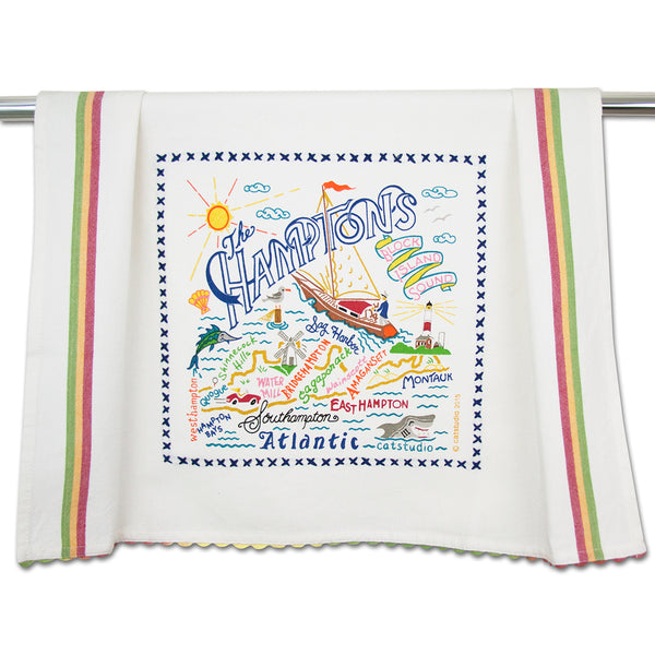 The Hamptons Dish Towel - CityBarnCountryPenthouse