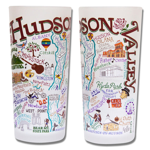 Hudson Valley Drinking Glasses - Set Of 4 - CityBarnCountryPenthouse