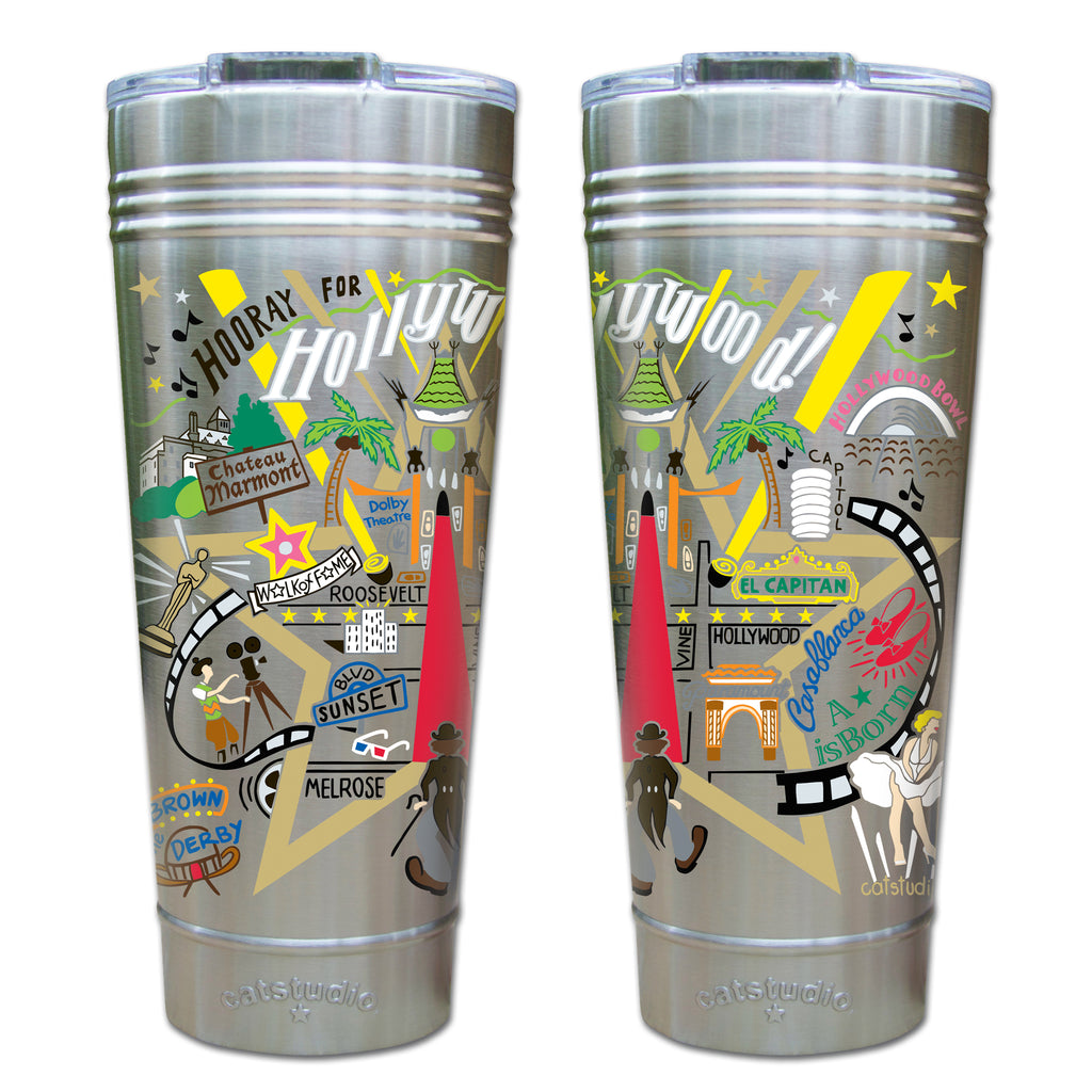 Hollywood Thermal Tumbler - CityBarnCountryPenthouse
