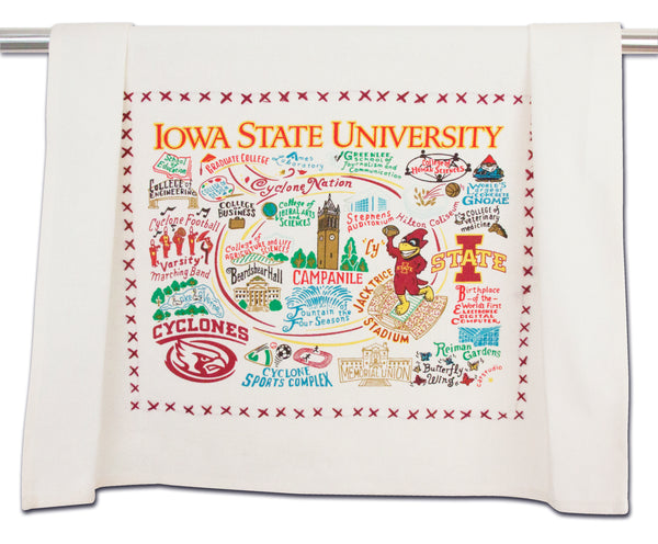 Iowa State University Dish Towel - CityBarnCountryPenthouse