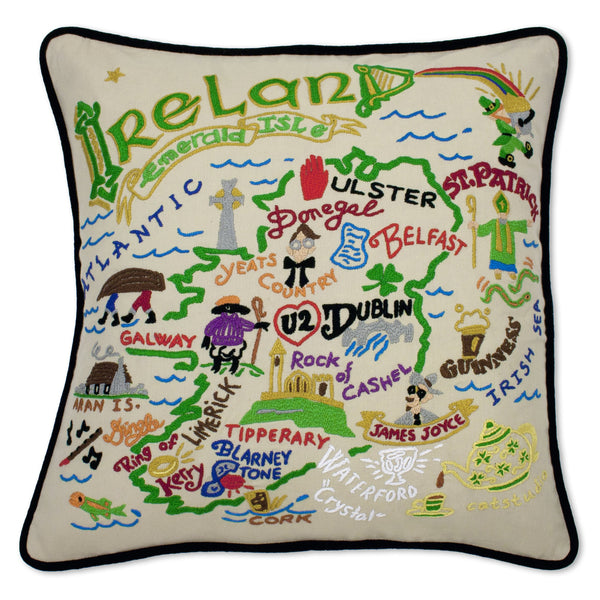 Ireland Pillow - CityBarnCountryPenthouse