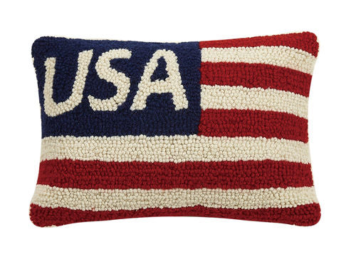 USA HOOK PILLOW - CityBarnCountryPenthouse