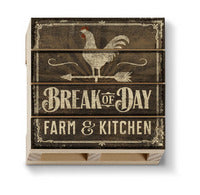 Break Of Day Pallet Coaster - CityBarnCountryPenthouse