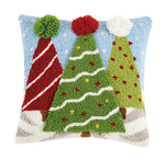 3D Christmas Trees Hook Pillow - CityBarnCountryPenthouse