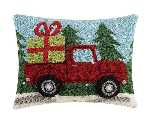 3D Red Truck Hook Pillow - CityBarnCountryPenthouse