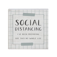 Social Distancing - Small Talk Square - CityBarnCountryPenthouse