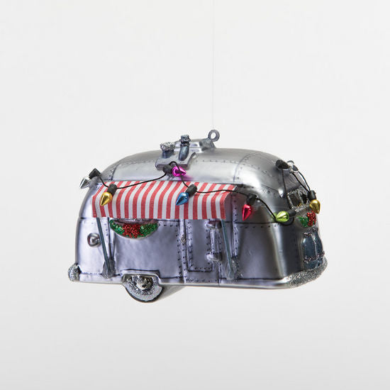 Christmas Airstream Ornament - CityBarnCountryPenthouse