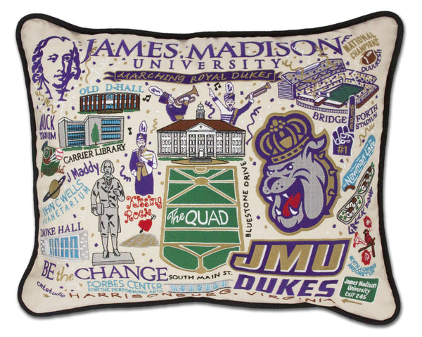 JAMES MADISON UNIVERSITY PILLOW