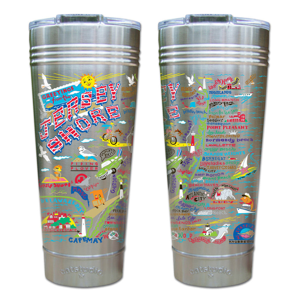 Jersey Shore Thermal Tumbler - CityBarnCountryPenthouse