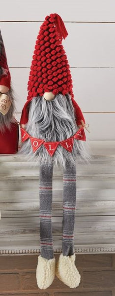 LARGE JOLLY DANGLE LEG GNOME - CityBarnCountryPenthouse
