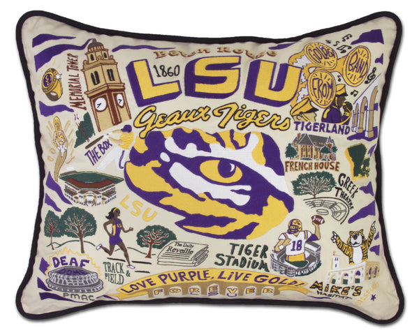 Louisiana State University (Lsu) Pillow - CityBarnCountryPenthouse