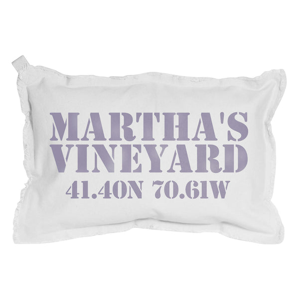 Town Name and Coordinates Pillow - Personalize it! - CityBarnCountryPenthouse