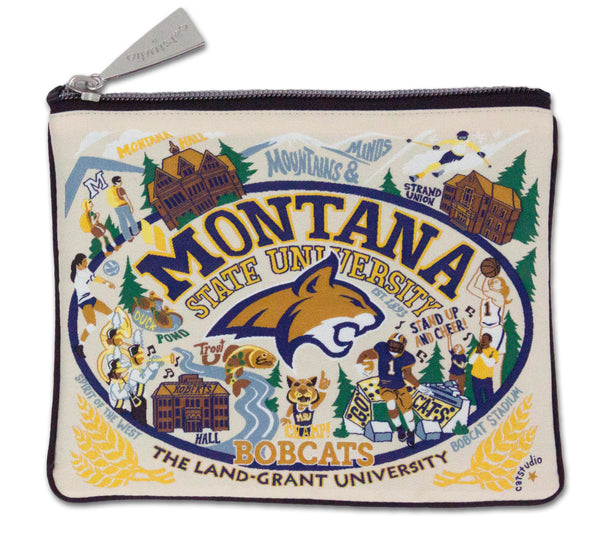 Montana State University Pouch - CityBarnCountryPenthouse