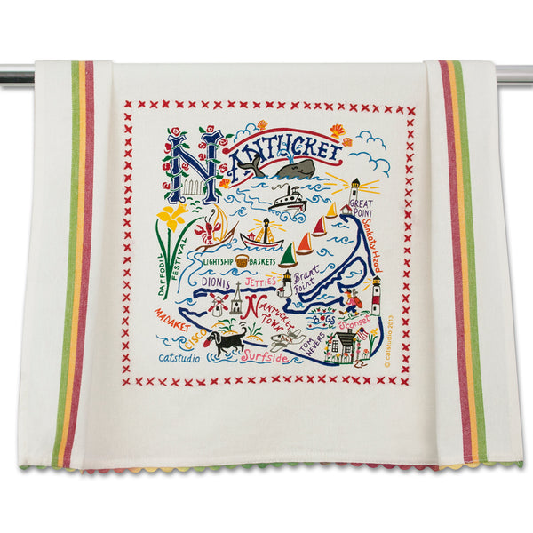 Nantucket Dish Towel - CityBarnCountryPenthouse
