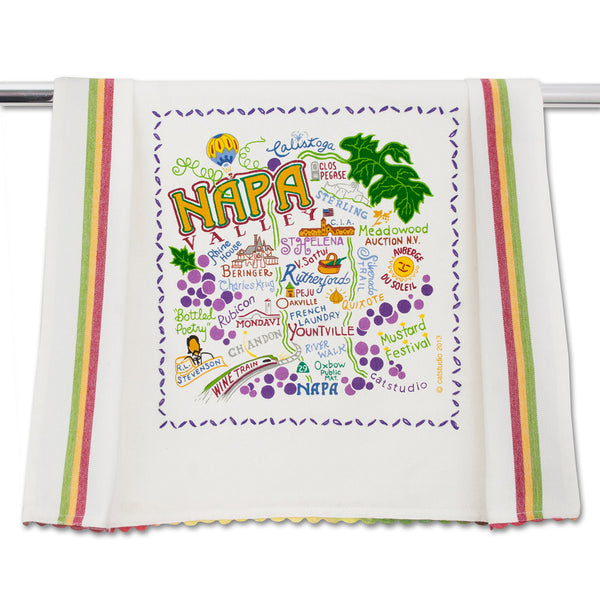 Napa Valley Dish Towel - CityBarnCountryPenthouse