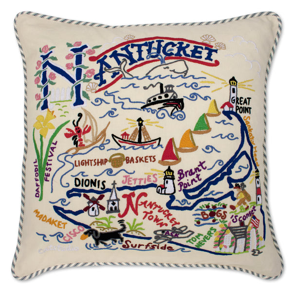 Nantucket Pillow - CityBarnCountryPenthouse