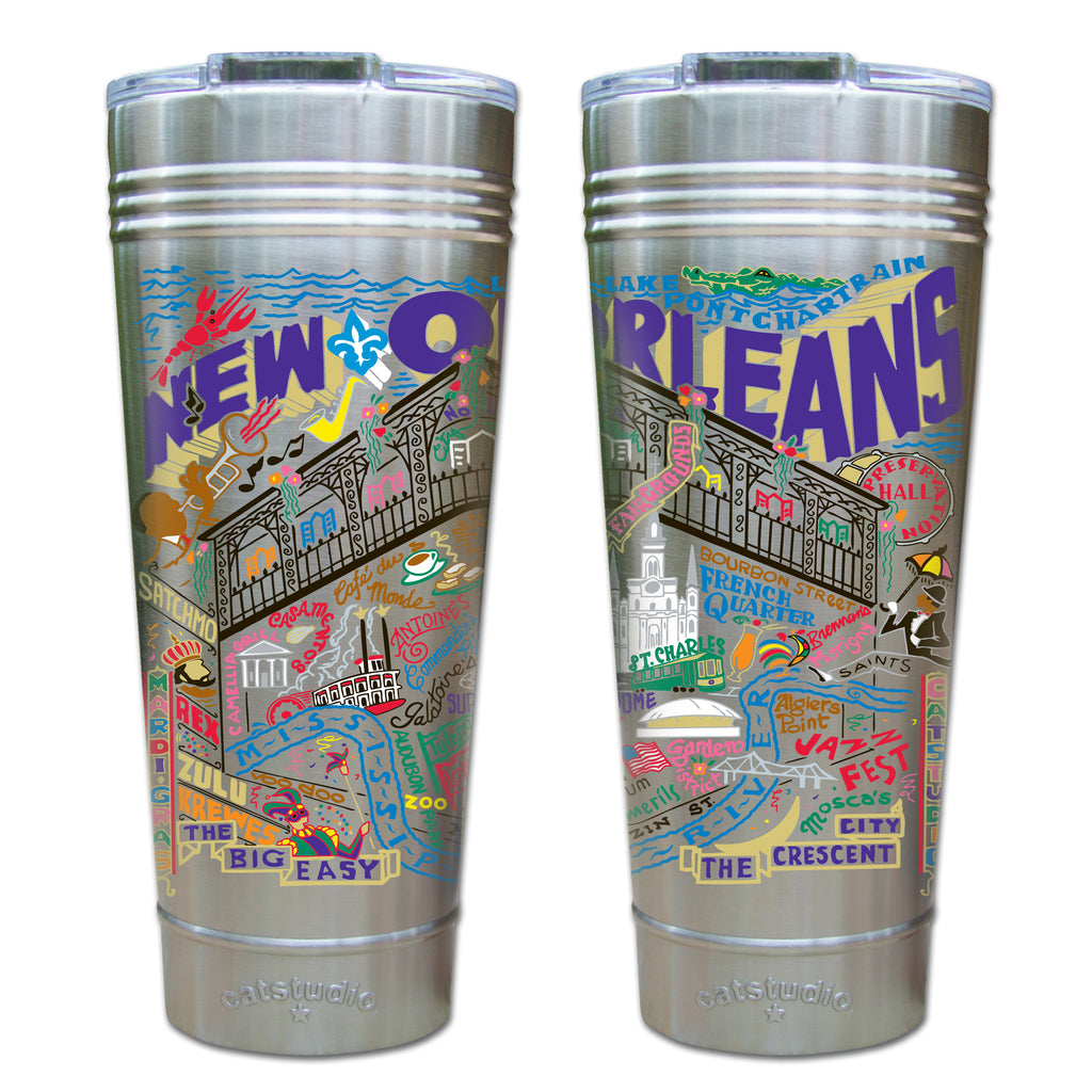 New Orleans Thermal Tumbler - CityBarnCountryPenthouse