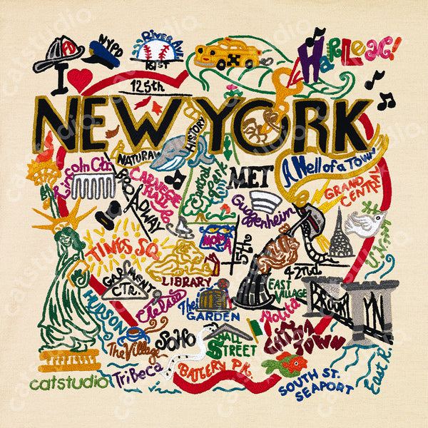 NEW YORK CITY ART PRINT 10X10