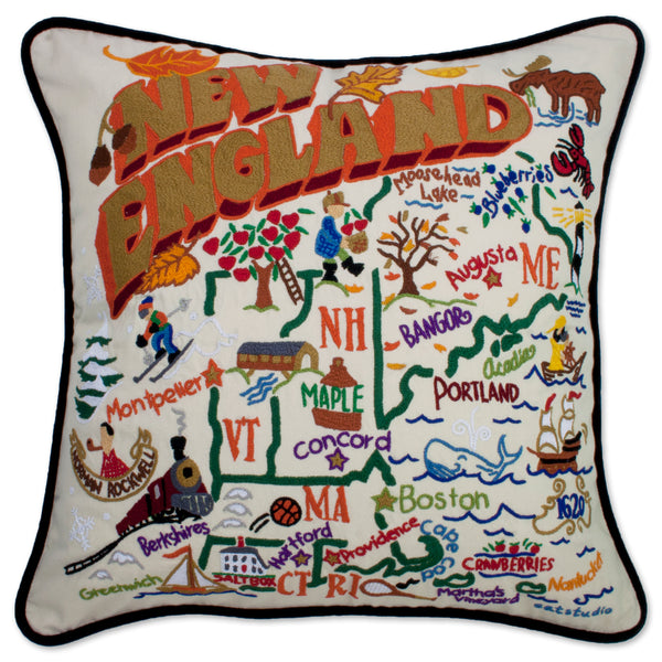 New England Pillow - CityBarnCountryPenthouse