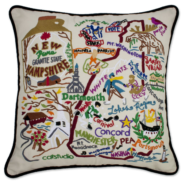 New Hampshire Pillow - CityBarnCountryPenthouse