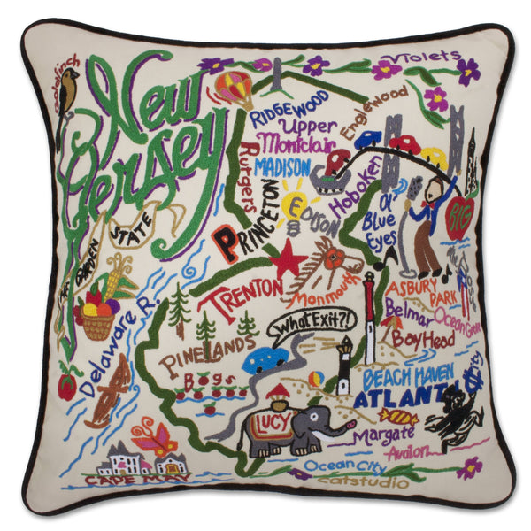 NEW JERSEY PILLOW - CityBarnCountryPenthouse