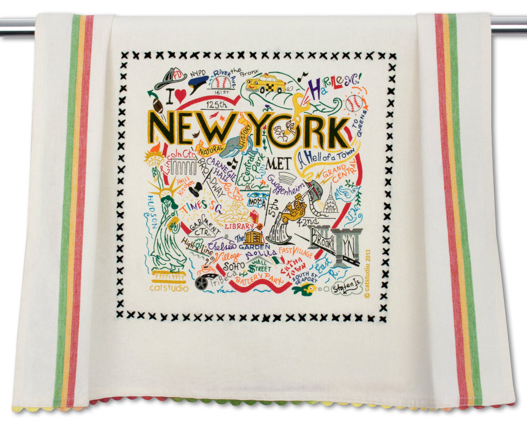 NEW YORK CITY DISH TOWEL - CityBarnCountryPenthouse