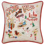 NORTH POLE PILLOW --- LOW STOCK!