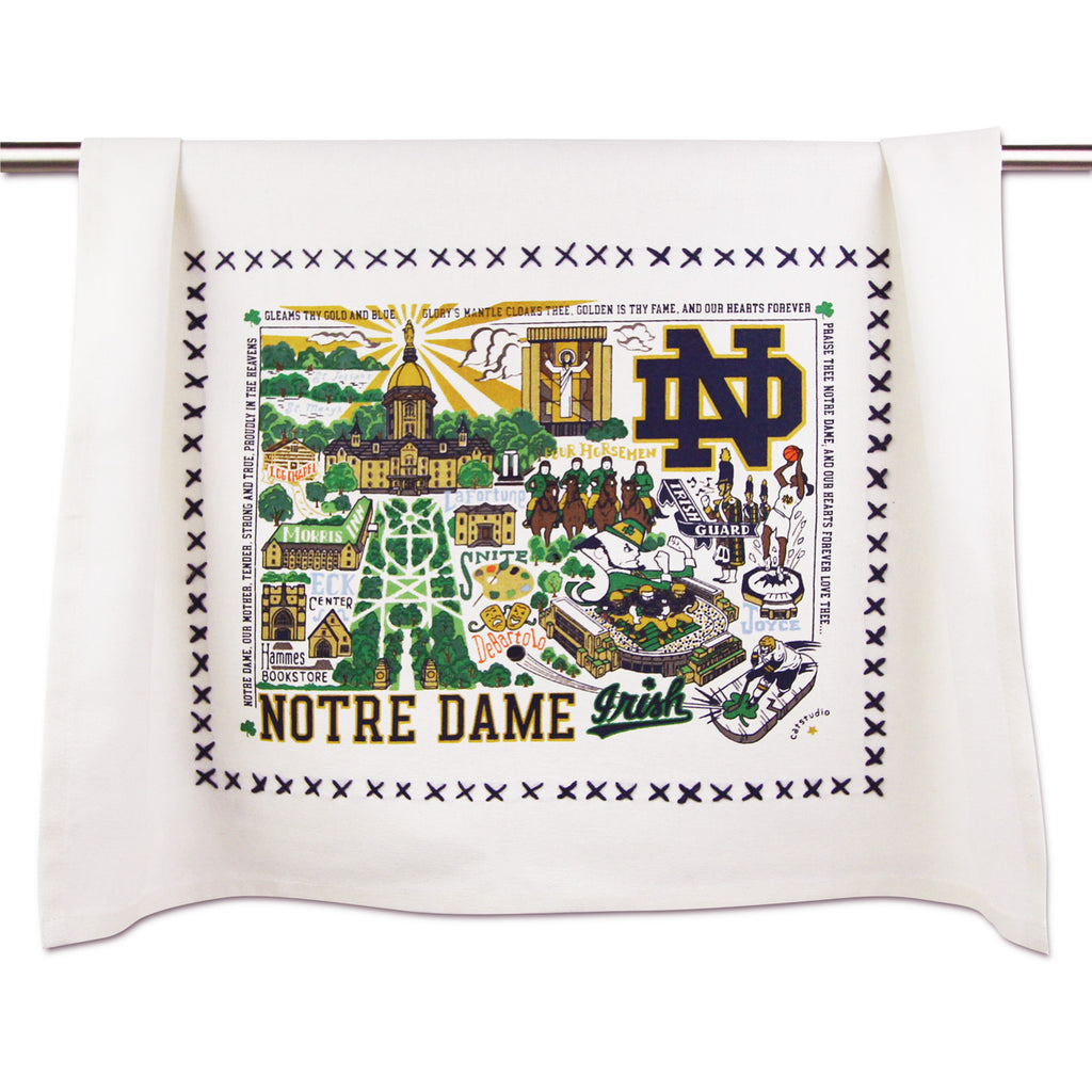 Notre Dame Dish Towel - CityBarnCountryPenthouse