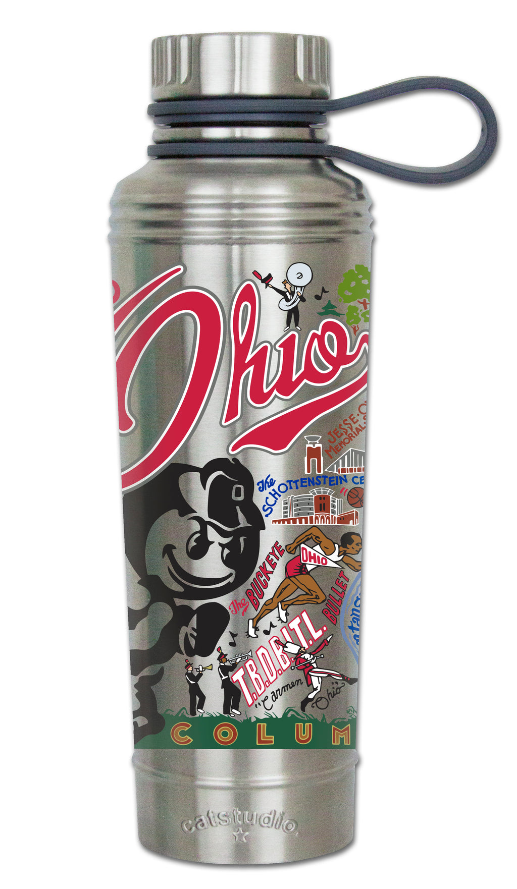 OHIO STATE UNIVERSITY THERMAL BOTTLE - CityBarnCountryPenthouse