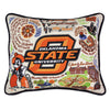 Oklahoma State University Pillow - CityBarnCountryPenthouse