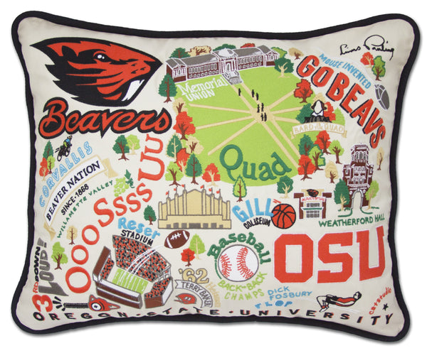 OREGON STATE UNIVERSITY PILLOW - CityBarnCountryPenthouse