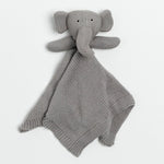Organic Cotton Lovey Elephant