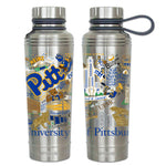 University Of Pittsburgh (Pitt) Thermal Bottle - CityBarnCountryPenthouse